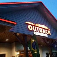 Foto tirada no(a) Outback Steakhouse por Rafael César D. em 10/26/2012