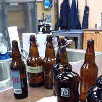 Photo taken at Beyond the Grape On-Premise Winemaking & Home Brewing Supplies by Miguel C. on 1/9/2015