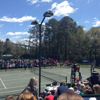 Photo taken at Family Circle Tennis Facility by Danielle B. on 3/30/2014