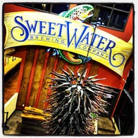 Photo taken at SweetWater Brewing Company by Joey T. on 1/20/2013