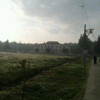 Photo taken at Dedeoğlu Ortaokulu by Bircan T. on 1/24/2014