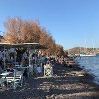 Photo taken at Tzivaeri Restaurant Patmos by Bircan T. on 8/15/2017