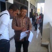 Photo taken at STIE-PI Makassar by nDyy t. on 12/16/2012
