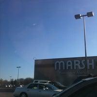 Photo taken at Marsh Supermarket by Monfreda on 1/19/2013