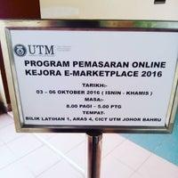 Photo taken at Pusat Komputer UTM (CICT) by Sheik Hazrin S. on 10/5/2016