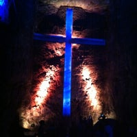Photo taken at Catedral de Sal de Zipaquirá by Mikke V. on 11/11/2012