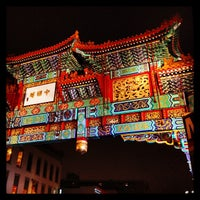 Photo taken at Chinatown Friendship Archway by Andrew B. on 2/24/2013