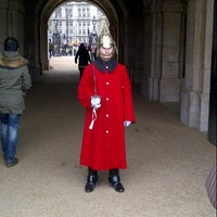 Photo taken at Horse Guards Parade by Pete R. on 1/13/2013