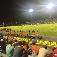Photo taken at Ogle Stadium by Ricky T. on 11/6/2015