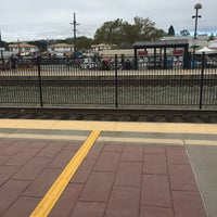Photo taken at Hayward Park Caltrain Station by Ricky T. on 8/15/2016