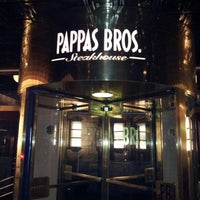 Photo taken at Pappas Bros. Steakhouse by The Boy N. on 10/28/2012