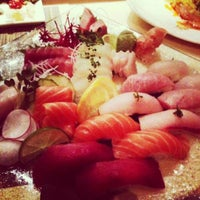 Photo taken at Sushi X by Monique MsMoe T. on 6/6/2013