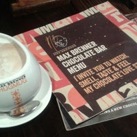 Photo taken at Max Brenner Chocolate Wollongong by Dina H. on 1/19/2015