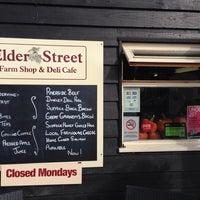 Photo taken at Elder Street Farm Shop & Deli Café by Wendy M. on 10/20/2013