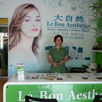 Photo taken at Le Bon Aesthetics 大自然 by Celia T. on 11/14/2012