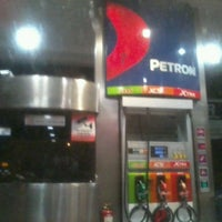Photo taken at Petron Service Station by Rissa P. on 11/23/2012