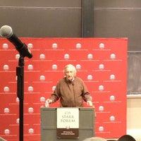 Photo taken at MIT 10-250 (Huntington Hall) by Al W. on 10/9/2013