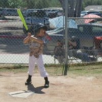 Photo taken at Sweetwater Valley Little League by Veronica K. on 4/2/2016