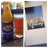 Photo taken at Alchemy Bar & Restaurant by UrielQuinn on 11/2/2013