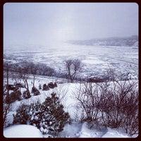 """Photo taken at Terrasse  """"Pierre-Dugua-De Mons"""" by Kowaq on 3/20/2013"""
