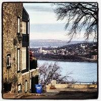 """Photo taken at Terrasse  """"Pierre-Dugua-De Mons"""" by Kowaq on 11/28/2012"""