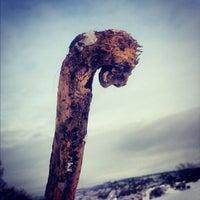 """Photo taken at Terrasse  """"Pierre-Dugua-De Mons"""" by Kowaq on 12/21/2012"""