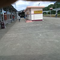 Photo taken at Palakkad Junction (Railway Station) by Vineeth N. on 9/30/2012