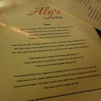 Photo taken at Aly's on Main by Ben G. on 1/4/2014