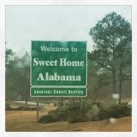 Photo taken at Alabama / Florida State Line by Rob H. on 12/27/2014