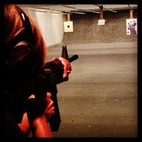 Photo taken at West Coast Armory Indoor Range by Rob H. on 7/7/2013