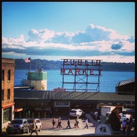 Photo taken at Pike Place Market by Rob H. on 5/17/2013