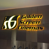 Photo taken at Golden Screen Cinemas (GSC) by Christian L. on 4/6/2013