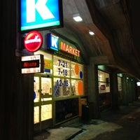 Photo taken at K-market Pasaati by Maria H. on 12/12/2012