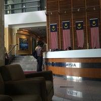 Photo taken at Kementerian Pendidikan Malaysia (KPM) by Nabiel F. on 3/19/2015