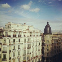 Photo taken at Hostal Go Inn Madrid by Amaia R. on 10/20/2012