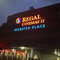 Photo taken at Regal Cinemas Webster Place 11 by Katrina K. on 4/13/2013