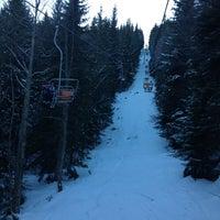 Photo taken at вр. Безбог, 2645м / Bezbog peak, 8677ft by Radina P. on 12/31/2012