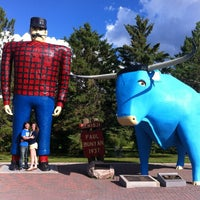 Photo taken at Paul Bunyan & Babe The Blue Ox by Taylen on 7/25/2013