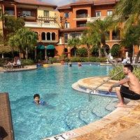 Photo taken at Wyndham Grand Orlando Resort-Bonnet Creek by Edith T. on 2/10/2013