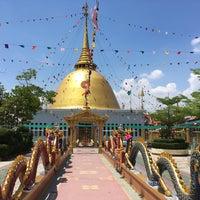 Photo taken at Wat Luang Por Opasee by Tattp on 4/14/2017