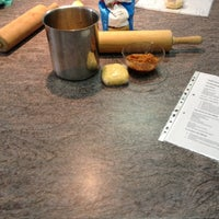 Photo taken at BHMS  Kitchen Lab by Daria B. on 12/13/2012