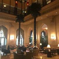 Photo taken at Lobby Lounge by Areej Aldaham on 8/30/2017