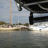 Photo taken at Mears Marina by Kam Q. on 10/6/2012