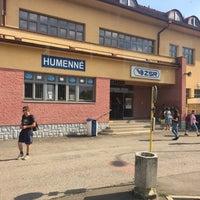 Photo taken at Železničná stanica Humenné by Petr I. on 7/18/2017