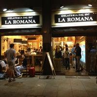 Photo taken at Gelateria La Romana by Francesco G. on 7/3/2013