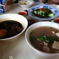 Photo taken at Cheng Mun Chee Kee Pig Organ Soup by B.b. S. on 2/16/2013
