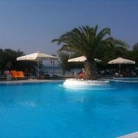 Photo taken at Negroponte Resort Eretria by Angelos S. on 8/17/2013