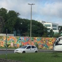 Photo taken at Praça Rio Iguaçu by Andre C. on 11/10/2016