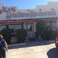 Photo taken at Mesa Italian Restaurant by Suzanne K. on 11/18/2012