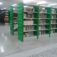 Photo taken at Biblioteca FFP-UERJ by Ywoollyanna S. on 11/5/2013